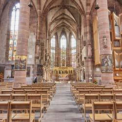 Innenraum - Frauenkirche Nürnberg