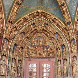 Eingang Impression - Frauenkirche Nürnberg