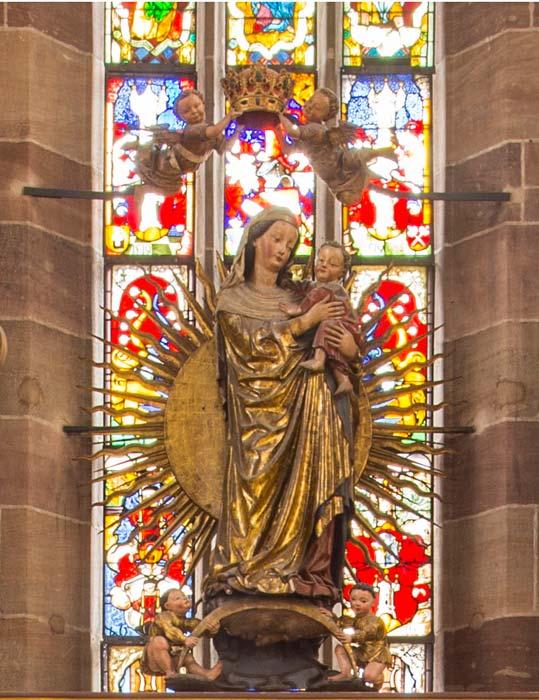 Strahlenkranzmadonna - Frauenkirche Nürnberg