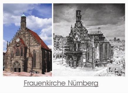 Postkarte - Frauenkirche Nürnberg