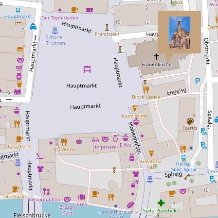 Mappe - Frauenkirche Nürnberg