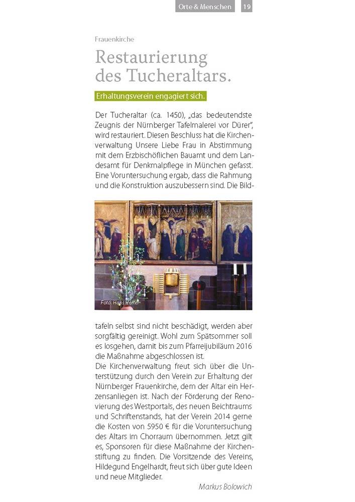 mittendrin 2015, Ausgabe 1