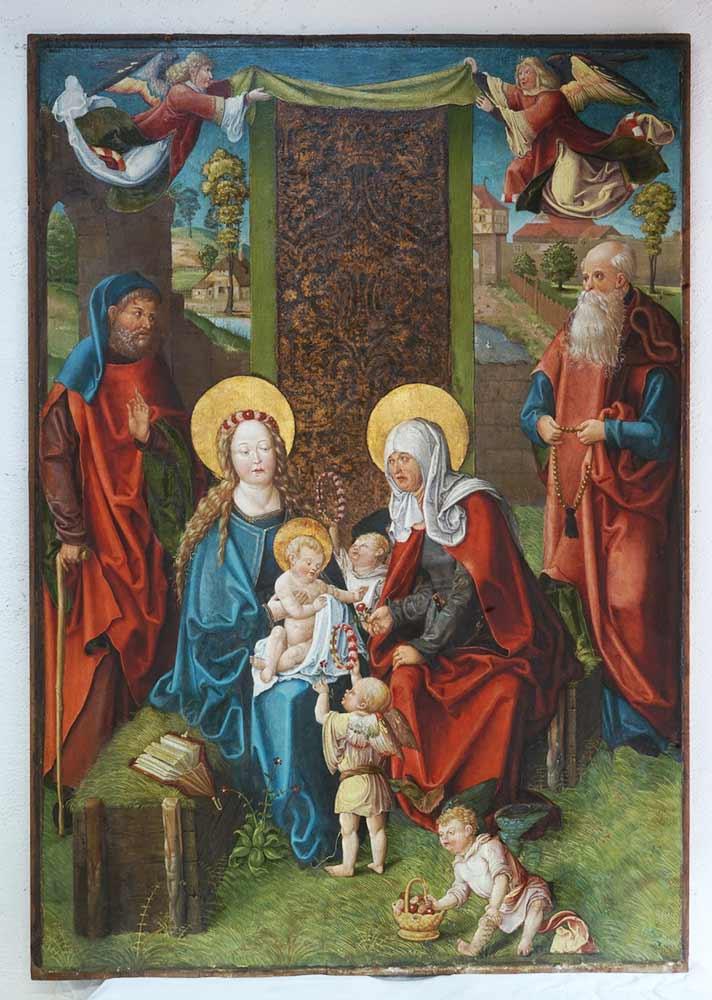 Das Bild der Heiligen Sippe