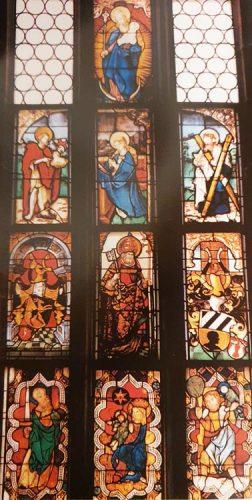 """das Mittleres Chorfenster """"Kaiserfenster"""""""